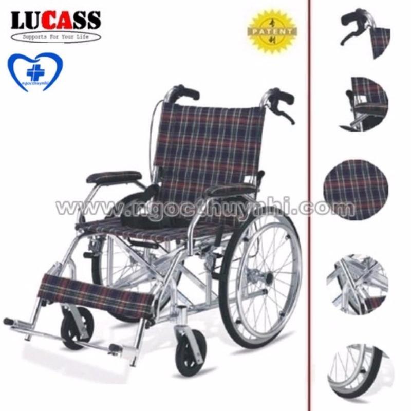 Xe lăn cho người khuyết tật Lucass X75J nhập khẩu