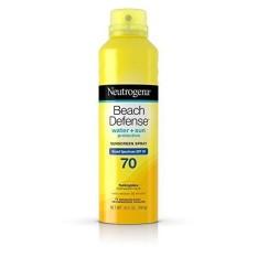 Xịt chống nắng Neutrogena Beach Defense SPF 70 ( nhập khẩu từ Mỹ) nhập khẩu