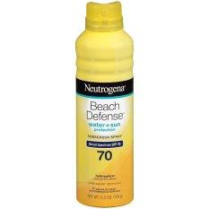 Chiết Khấu Xịt Chống Nắng Neutrogena Beach Defense Spray Sunscreen Broad Spectrum Spf 70 184G Có Thương Hiệu