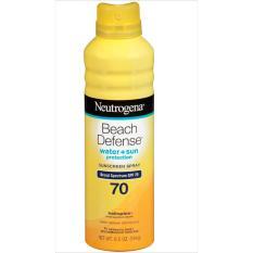 Xịt Chống Nắng Neutrogena Beach Defense Sunscreen Spray Broad Spectrum SPF 70 184g