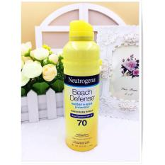 Chiết Khấu Sản Phẩm Xịt Chống Nắng Neutrogena Beach Defense Sunscreen Spray Broad Spectrum Spf 70 184G