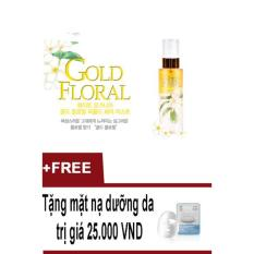 Giá Bán Xịt Dưỡng Toc Co Hương Thơm Nước Hoa Quyến Rũ Hoang Kim Perfumed Hair Mist Gold Floral 100Ml Tặng Mặt Nạ Dưỡng Da Rẻ Nhất
