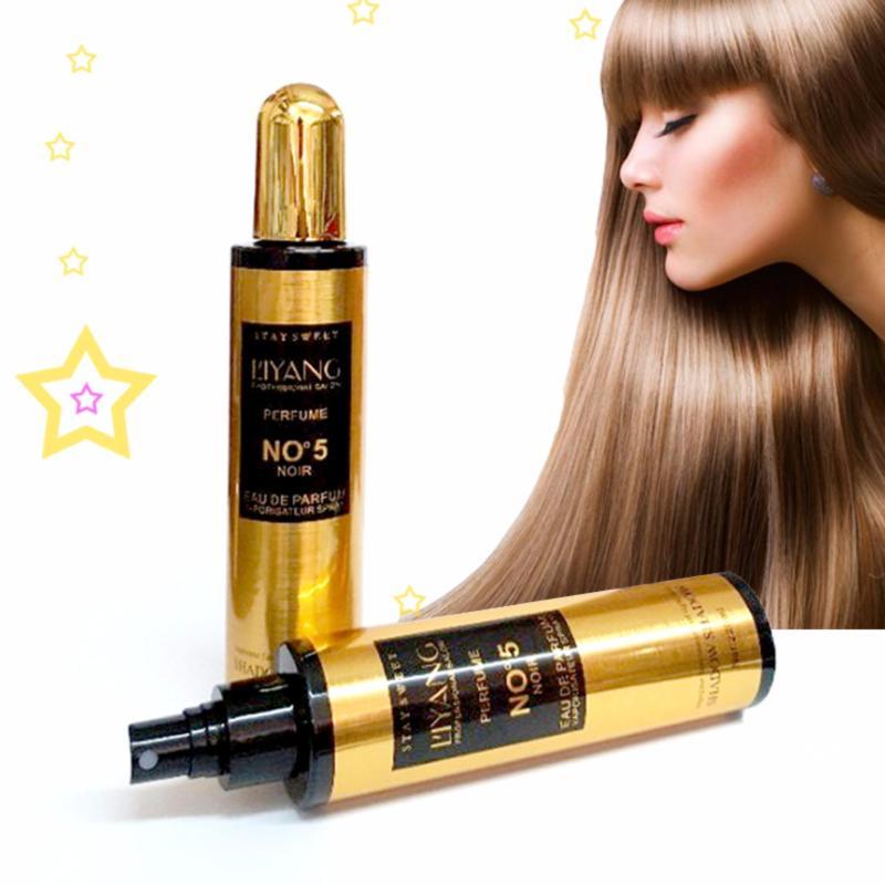 Xịt dưỡng tóc mùi hương nước hoa Liyang No5 (220ml) - Aloxinh88