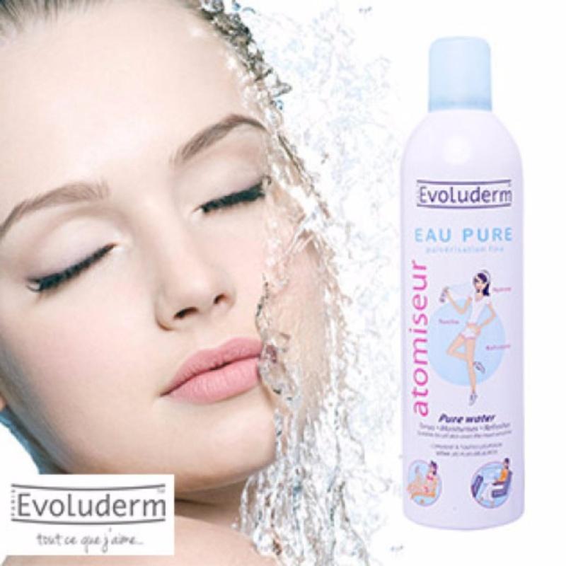 Xịt khoáng dưỡng da Evoluderm Atomiseur Eau Pure 150ml nhập khẩu
