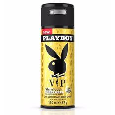 Xịt khử mùi Body Nam PlayBoy 24h Deodorant Body Spray - VIP