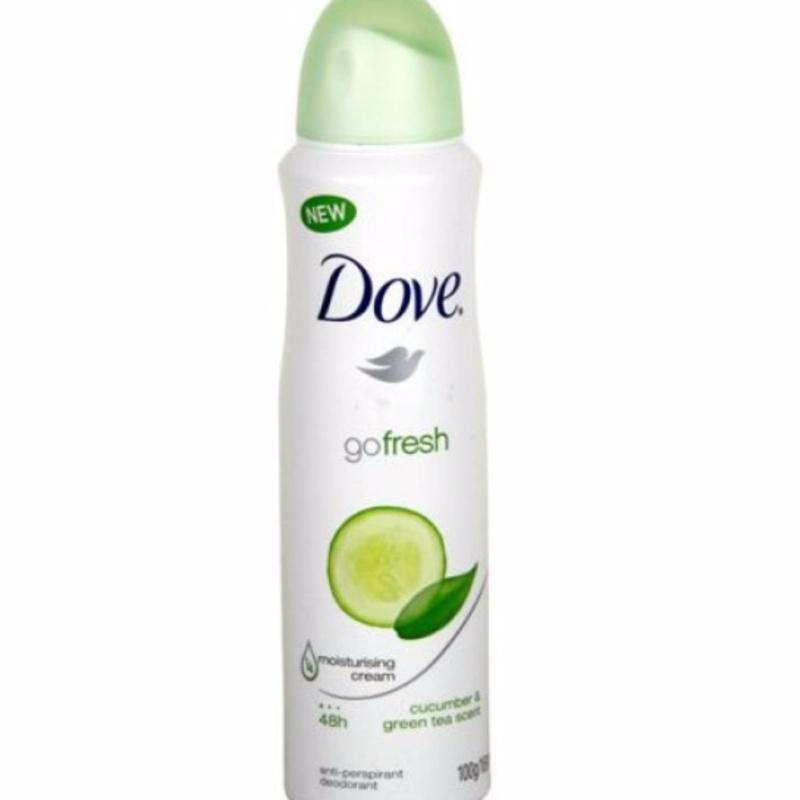 Xịt khử mùi Dove Go Fresh 150ml Hương Dưa Leo và Trà xanh nhập khẩu