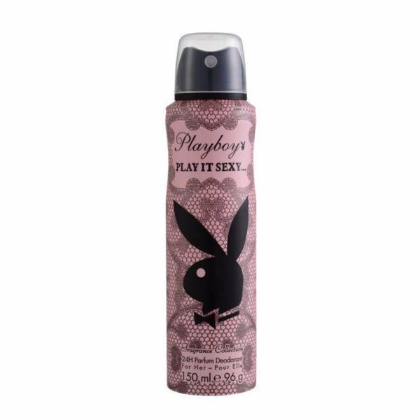 Xịt thơm toàn thân cho nữ Playboy 24h Parfum Deodorant for Her - Play It Sexy 150ml