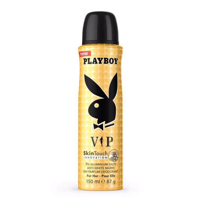 Xịt thơm toàn thân cho nữ Playboy 24h Parfum Deodorant for Her - Vip 150ml