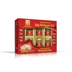 Yến sào Song Yến hộp 6 lọ 13% tinh chất yến nhập khẩu