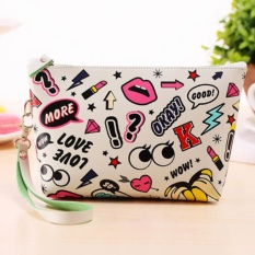 Yika Fashion Women Print Toiletry Makeup Bag Travel Organizer Storage Pouch Clutch Bag tốt nhất