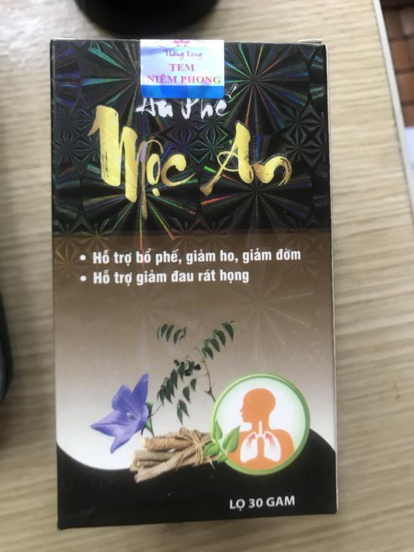 AN PHẾ MỘC AN - Dòng sản phẩm cao cấp cho Viêm Họng hạt, Viêm Amidan mãn tính