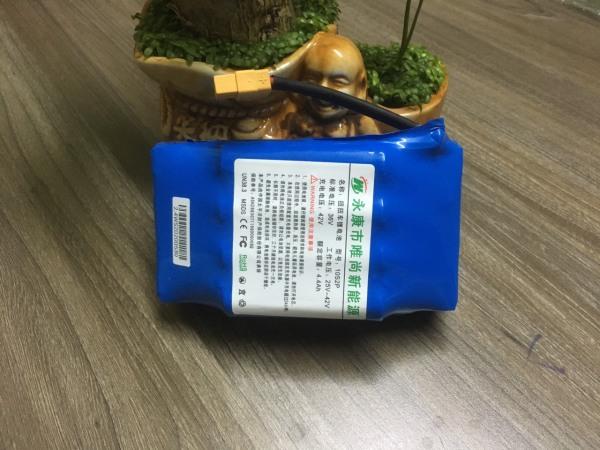 Giá bán Pin xe điện cân bằng 2 bánh, pin xe cân bằng điện 36v 5.0Ah, dung lượng 4400MAH