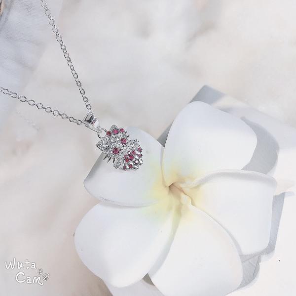 QMJ Dây chuyền bạc 925 cao cấp Mèo váy siêu dễ thương thiết kế độc lạ, thích hợp với cô nàng thích sự độc và lạ trang sức thời trang nữ đẹp - QKL1420