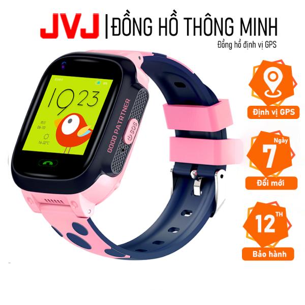 Đồng hồ thông minh định vị GPS Y95 JVJ Cho Trẻ Em, Gọi Video HD 4G Full Netcom hỗ trợ camera, gọi video call 4G LTE sai số thấp, camera chụp ảnh từ xa, lắp sim nghe gọi 2 chiều, Chống Mất, dành Cho Android IOS chống nước IP67