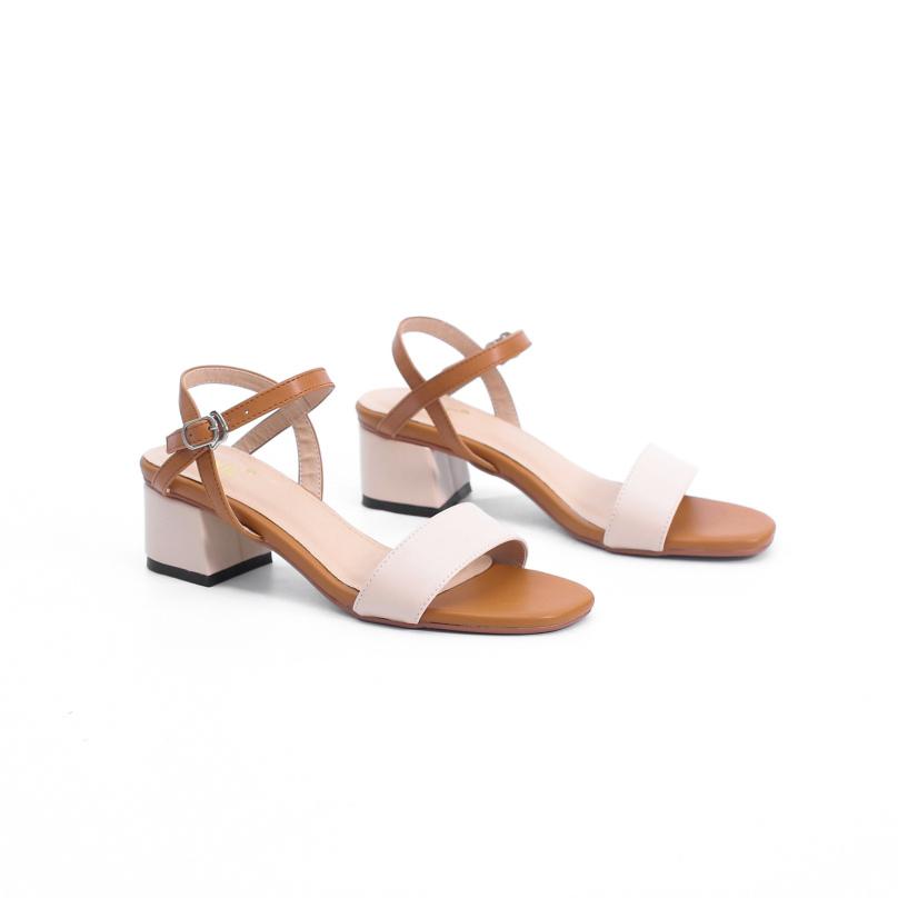 Giày Sandal Cao Gót 3cm Mix Nhiều Màu Pixie X476 giá rẻ