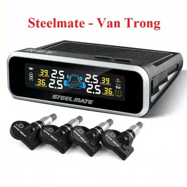 Cảm biến áp suất lốp van trong Steelmate E3 Chuẩn Zin Full Box