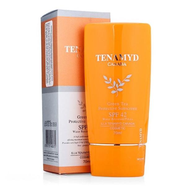 Kem Chống Nắng Tinh Chất Trà Xanh Green Tea Protective Sunscreen Tenamyd SPF42 nhập khẩu