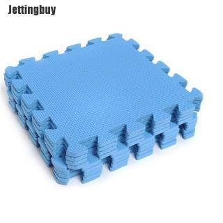 Jettingbuy 10 Tấm Thảm Xốp Sàn Xếp Hình Thảm Tập Gym Tấm Lót Chơi Cho Trẻ Em Hình Vuông Dày thumbnail