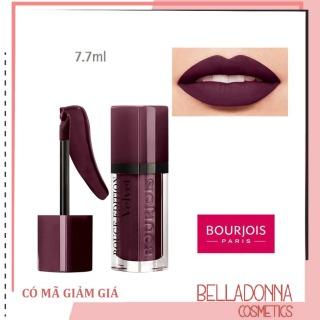 Son lì Bourjois Rouge Edition Velvet 25 Berry Chic - Màu Tím Mận Hoàn Hảo Cho Nét Đẹp Quyến Rũ thumbnail