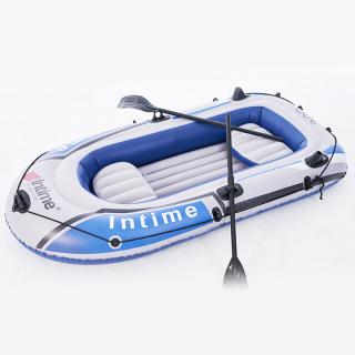 Thuyền hơi, thuyền phao, thuyền câu cá, xuồng hơi dã ngoại INTIME cho 3- 4 người loại 1 dày hơn rộng hơn bền đẹp dùng lâu dài. KAWAII HOME thumbnail