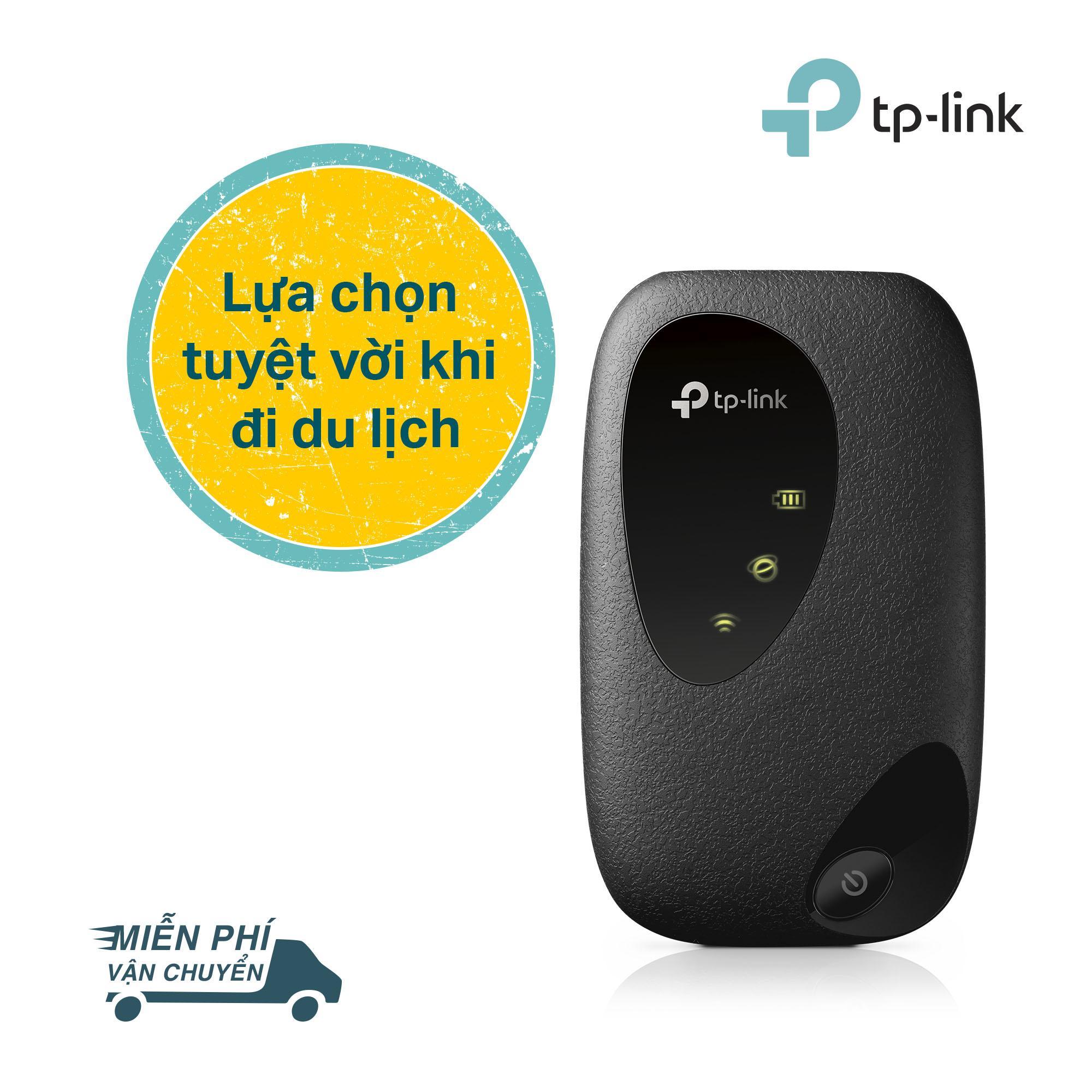 TP-Link bộ phát Wifi di động 4G kết nối wifi mọi lúc mọi nơi M7200 - Hãng phân phối chính thức