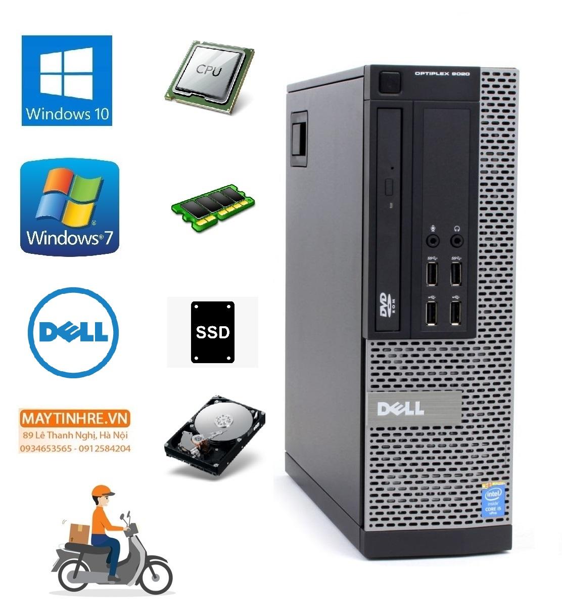 Máy Tính Đồng Bộ Dell Optiplex 9020 Cấu Hình Khách Tự Chọn Bảo Hành 24 Tháng, Hàng Nhập Khẩu, Chưa Bao Gồm Phím Chuột Và Màn Hình Giá Tốt Duy Nhất tại Lazada