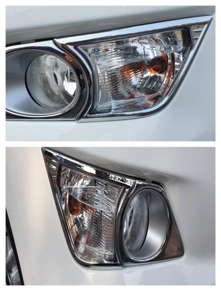 Bộ 2 Ốp viền đèn gầm mạ Crom Toyota Innova Đời 2017 đến 2019