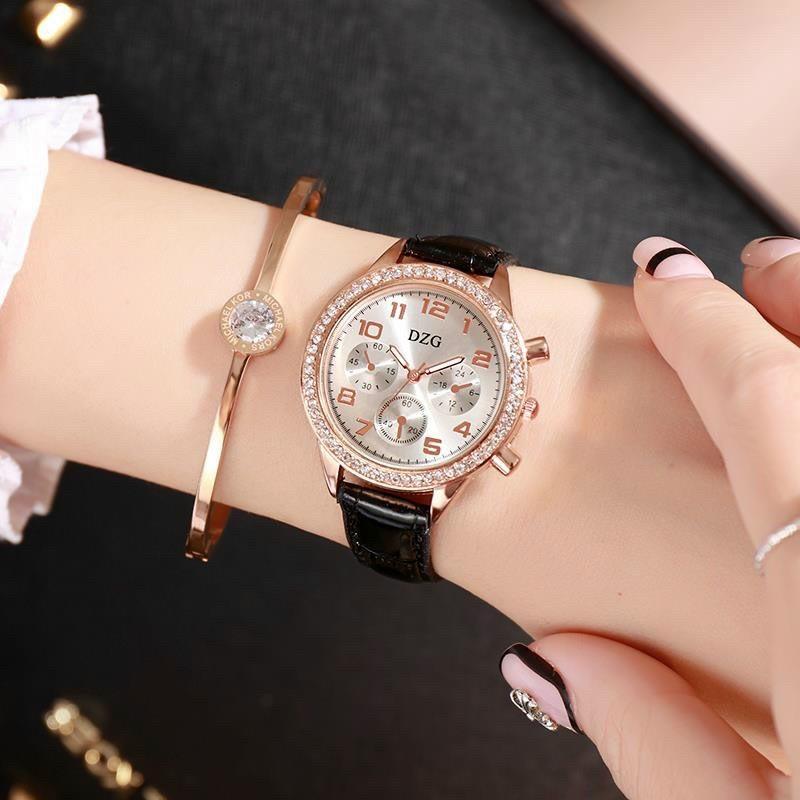 Đồng hồ thời trang nữ DZG Mẫu mới AAE123