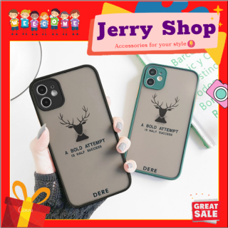 [FREESHIP đơn 50k] Ốp lưng iphone Nai Dere 6 6plus 6s 6splus 7 7plus 8 8plus x xr xs 11 12 pro max plus promax - JERRY SHOP thumbnail