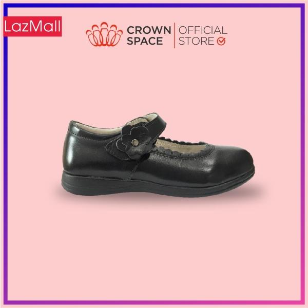 Giá bán Giày Búp Bê Đi Học Bé Gái Crown Space UK School Shoes CRUK3041 Cao Cấp Nhẹ Êm Thoáng Mát Size 30-36/4-14 Tuổi