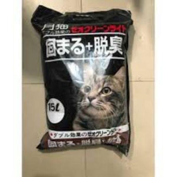 Cát vệ sinh cho mèo CatLike cát nhật, cát nhật cô đơn caffe 15l