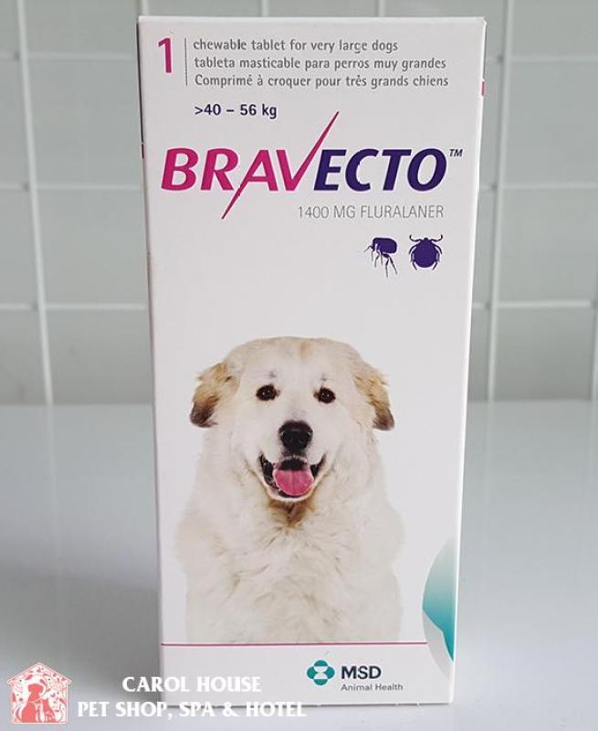 BRAVECTO Viên nhai trị ve rận bọ chét và Demodex hiệu quả