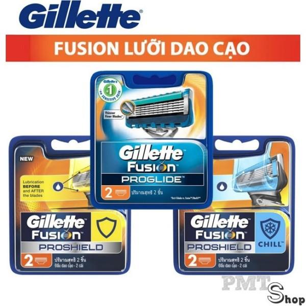 Lưỡi Dao Cạo Râu Gillette Fusion 5 lưỡi vĩ 2 cái