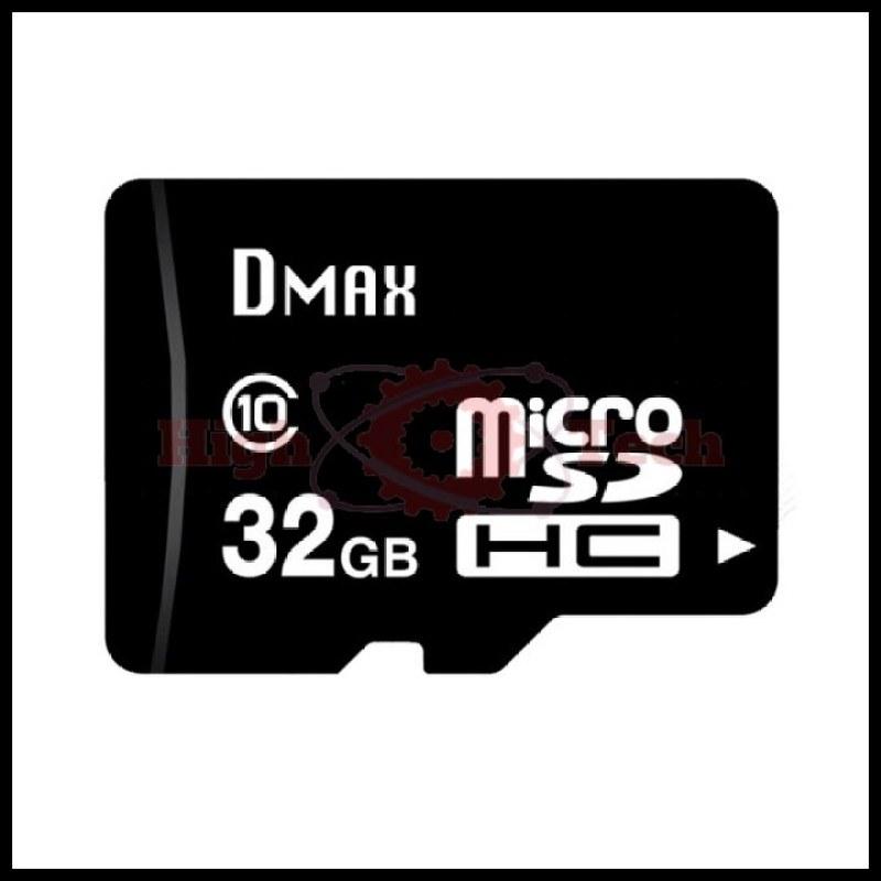 Thẻ nhớ 32GB Dmax micro SDHC Class 10 - Bảo hành 5 năm đổi mới + Tặng đầu đọc