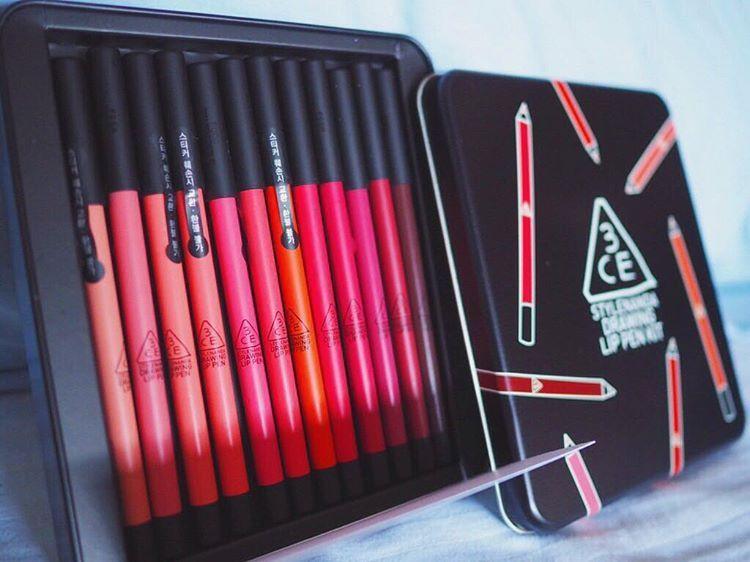 Set son bút chì 12 cây Drawing Lip siêu hot tốt nhất