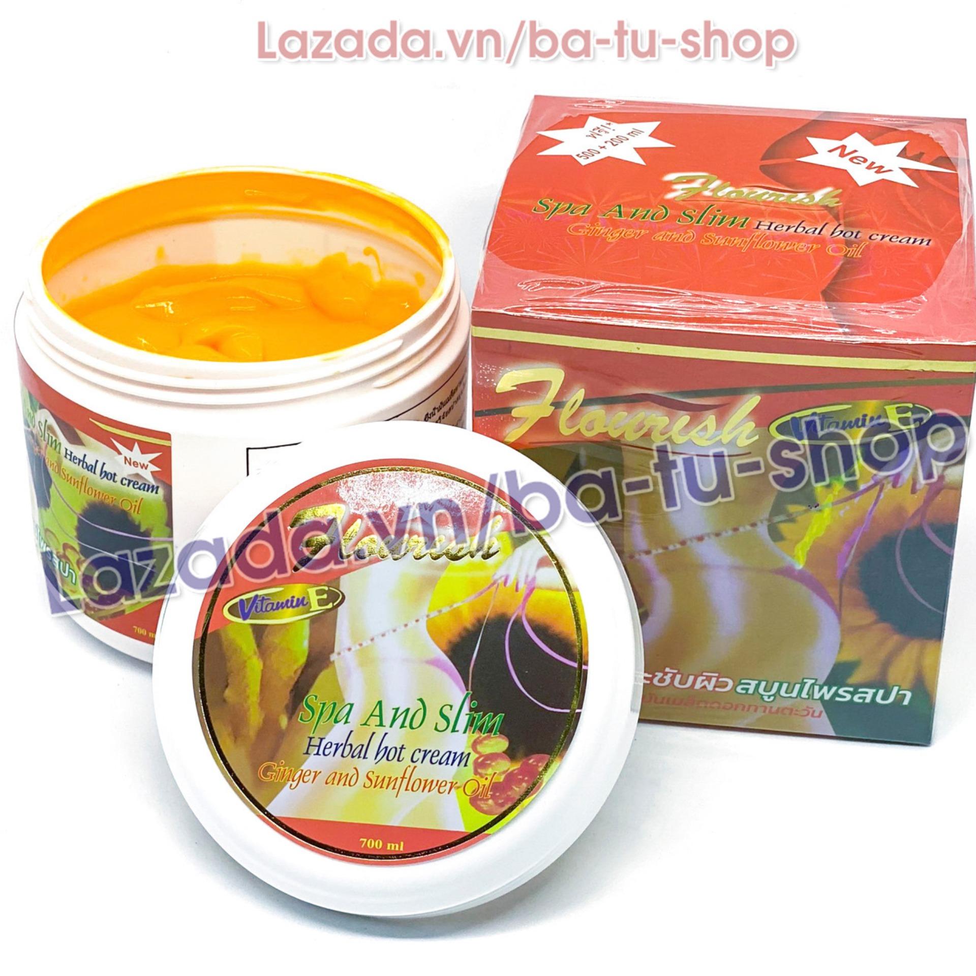 Mã Giảm Giá tại Lazada cho Kem Tan Mỡ Bụng Gừng ớt Flourish Thái Lan