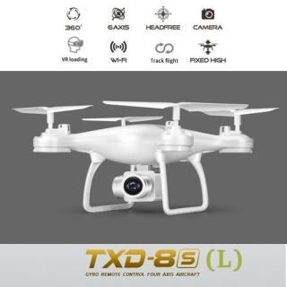 Máy Bay Flycam Txd-8S Plus Pin 2000Mah Bay 17-20P - Có Chế Độ Tự Về Bằng 1 Nút Bấm Trên Tay Điều Khiển Flycam Giá Rẻ (Bản Có Camera) . Bảo Hành 1 Năm thumbnail