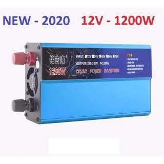 Bộ kich điện 12v lên 220v, công suất 1200w inverter thumbnail