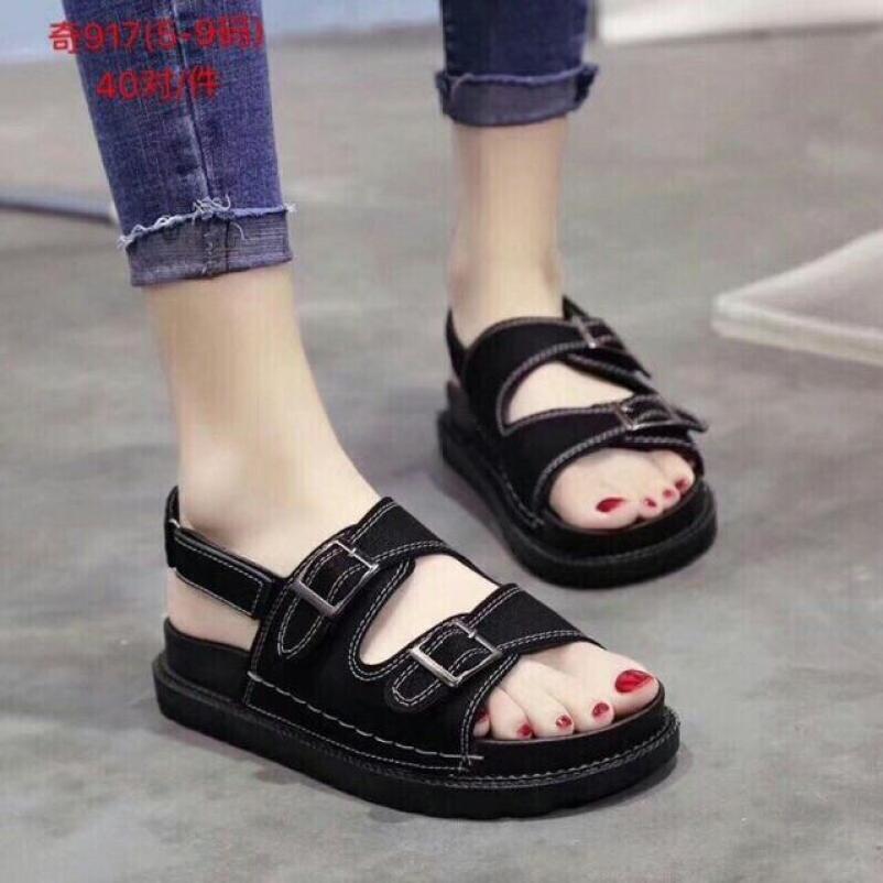 Sandal nữ khoá ngang LINH SHOP giá rẻ