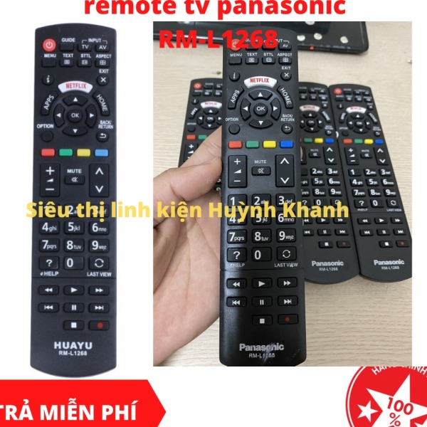 Bảng giá REMOTE TV PANASONIC RM-L1268