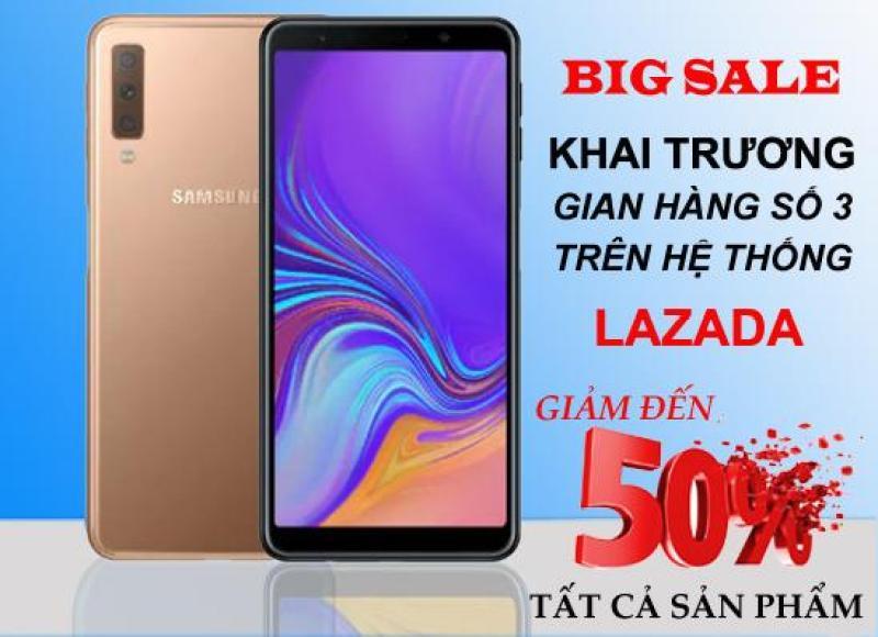 Samsung Galaxy A7 (2018) 64GB - Thiết kế nguyên khối sang trọng- Cụm 3 camera ấn tượng- Bảo hành 12 tháng