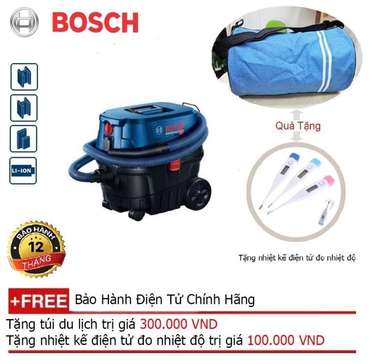 Máy hút bụi công nghiệp Bosch GAS 12-25 (Ướt và khô) + Quà tặng balo du lịch