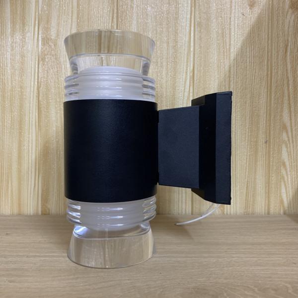 Đèn tường - đèn trang trí LED hình trụ 2 đầu hiện đại