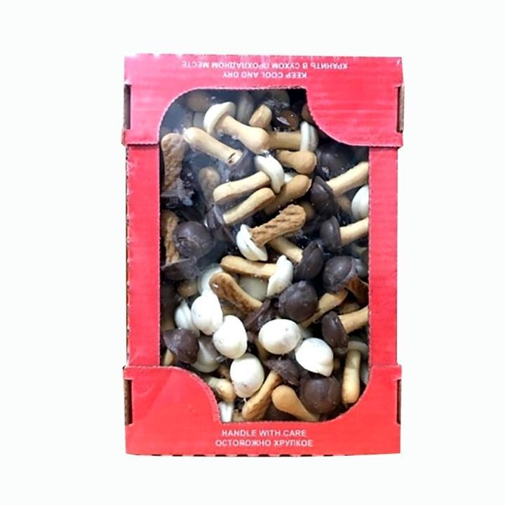 Bánh nấm Nga socola đen trắng 300g