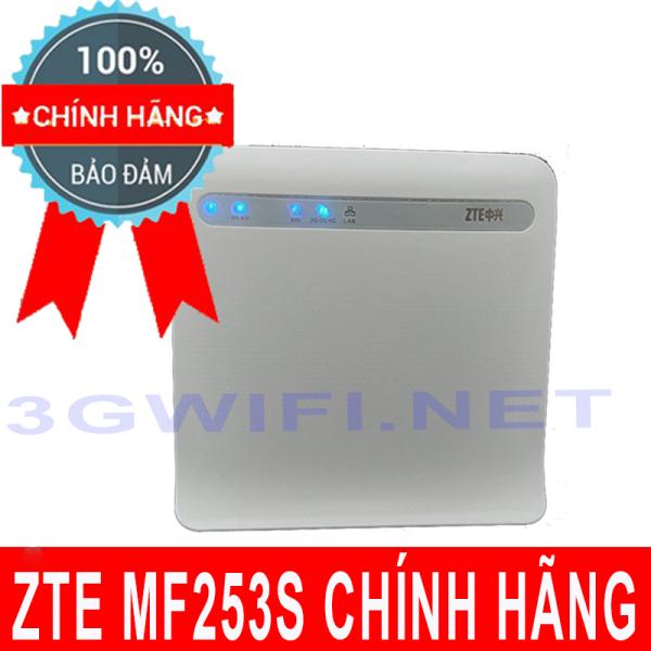 Bộ Phát Wifi 4G ZTE MF253S - Cục Phát Wifi Di Động ZTE Kết Nối 32 Thiết Bị