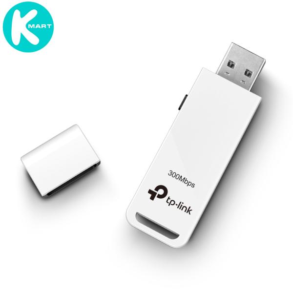 USB thu sóng WIFI siêu nhỏ gọn Chuẩn N 300Mbps TP-Link TL-WN821N - Hàng Chính Hãng