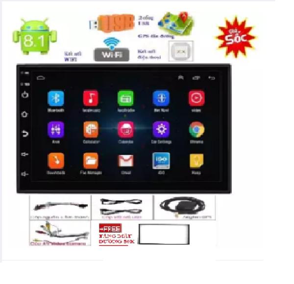 Đầu DVD Android Ô Tô Ram 1Gb/2Gb Chạy Sim 4G-Thu Phát Wifi, hoặc kết nối wifi, , Màn Hình Android Ô tô 7inch Full HD hình ảnh trung thực, âm thanh hifi sắc nét, màn hình ô tô android giá rẻ,đầu dvd xe hơi,dvd ô tô giá rẻ TẶNG MẶT DƯỠNG