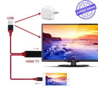 Cáp HDMI Kết Nối Điện Thoại Iphone Ra Tivi HD 4