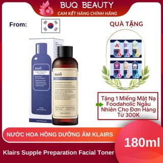 Nước hoa hồng Klairs Supple Preparation Facial Toner - Toner Klairs 180ml thumbnail
