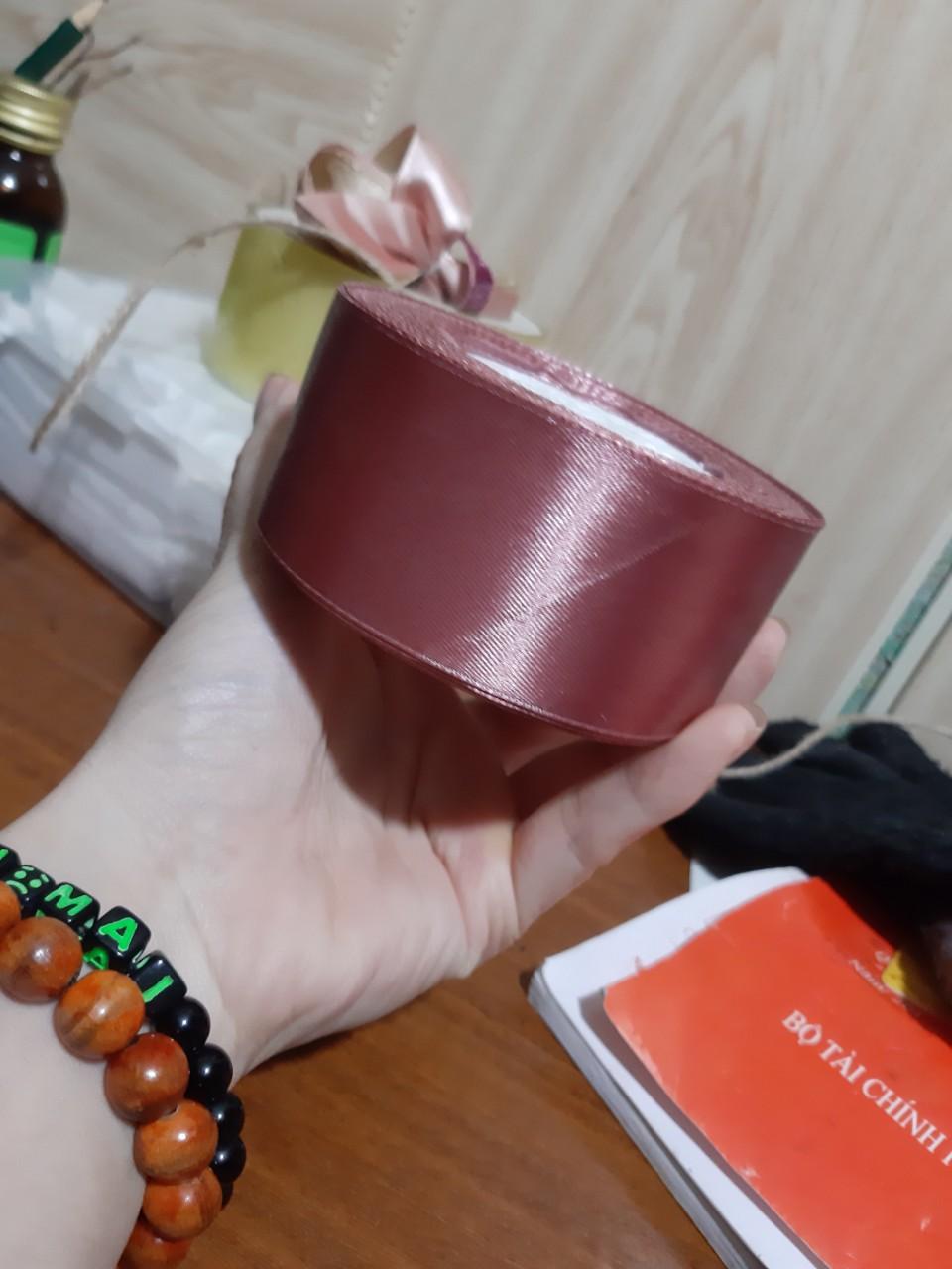 Voucher Khuyến Mại Ruy Băng Lụa 4cm Cuộn 22m,ruy Băng Lụa 4 Phân